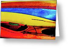 The Kayaks Greeting Card