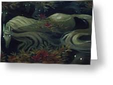 The Kelpie Pond Greeting Card