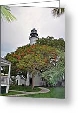 The Key West Lighthouse Greeting Card