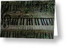 The Keyboard Greeting Card