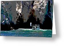 The Keyhole Mexico Cabo San Lucas Greeting Card
