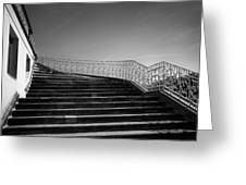 The Kings Steps Greeting Card