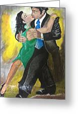 The Kiss Of Passion Greeting Card