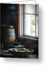 The Kitchen Window Greeting Card