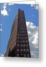 The Kollhoff-tower ...  Greeting Card