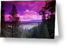 The Kootenai Wildlife Reserve   Greeting Card