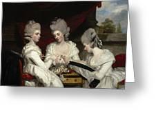The Ladies Waldegrave Greeting Card