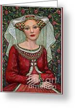 The Lady Mae   Bas Relief Miniature Greeting Card