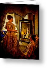 The Lady Of The House Greeting Card