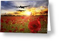 The Lancasters Greeting Card