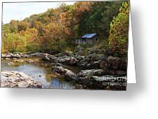 The Landscape By Klepzig Mill Greeting Card