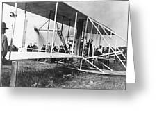 The Langley Airplane Greeting Card