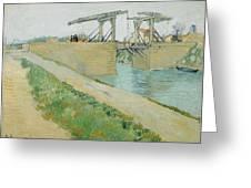 The Langlois Bridge Greeting Card