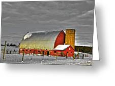 The Last Barn Greeting Card