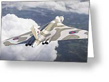 The Last Flight Of The Vulcan Greeting Card