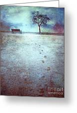 The Last Snowfall Greeting Card