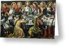 The Last Supper Greeting Card by Godefroy