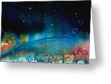 The Last Turtle From The Sea Of Cassiopeia Greeting Card