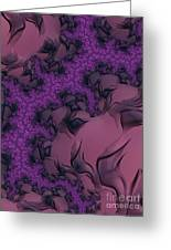 The Lavender Forest 2 Greeting Card