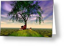 The Learning Tree Greeting Card