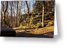 The Ledges 4 Greeting Card