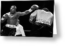 The Left Jab Greeting Card