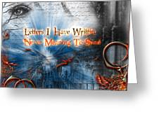 The Letters Greeting Card