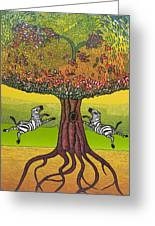The Life-giving Tree. Greeting Card