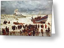 The Lifeboat Greeting Card