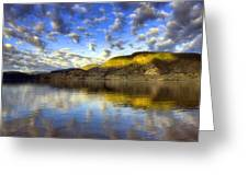 The Light At Skaha Lake Greeting Card