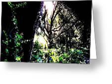 The Light At The End Of The Triangle Greeting Card by Eikoni Images