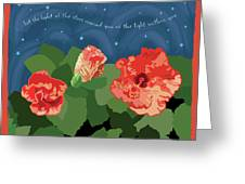 The Light Of The Stars Greeting Card