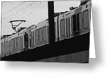 The Light Rail Greeting Card