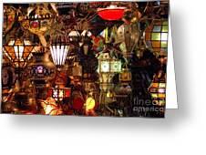 The Light Shop Marrakesh Greeting Card
