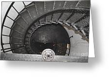 The Lighthouse Stairs Greeting Card