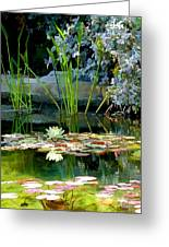 The Lily Pond II Greeting Card
