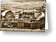 The Linc - Aerial View Greeting Card