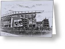 The Linc - Philadelphia Eagles Greeting Card