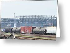 The Linc From The Other Side Of The Tracks Greeting Card