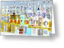 The Liquor Cabinet Greeting Card