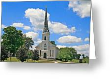 The Little Country Church Greeting Card