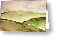 The Little Hills Rejoice Greeting Card