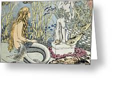 The Little Mermaid Greeting Card