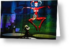 The Little Puppet Master Greeting Card