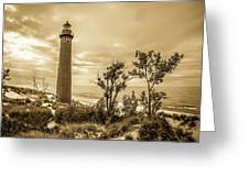 The Little Sable Lighthouse Greeting Card