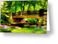 The Little Stone Bridge Greeting Card