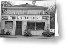 The Little Store Greeting Card
