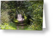 The Little Wooden Bridge Greeting Card