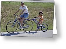 The Littlest Biker Greeting Card