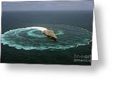 The Littoral Combat Ship Uss Independence Greeting Card